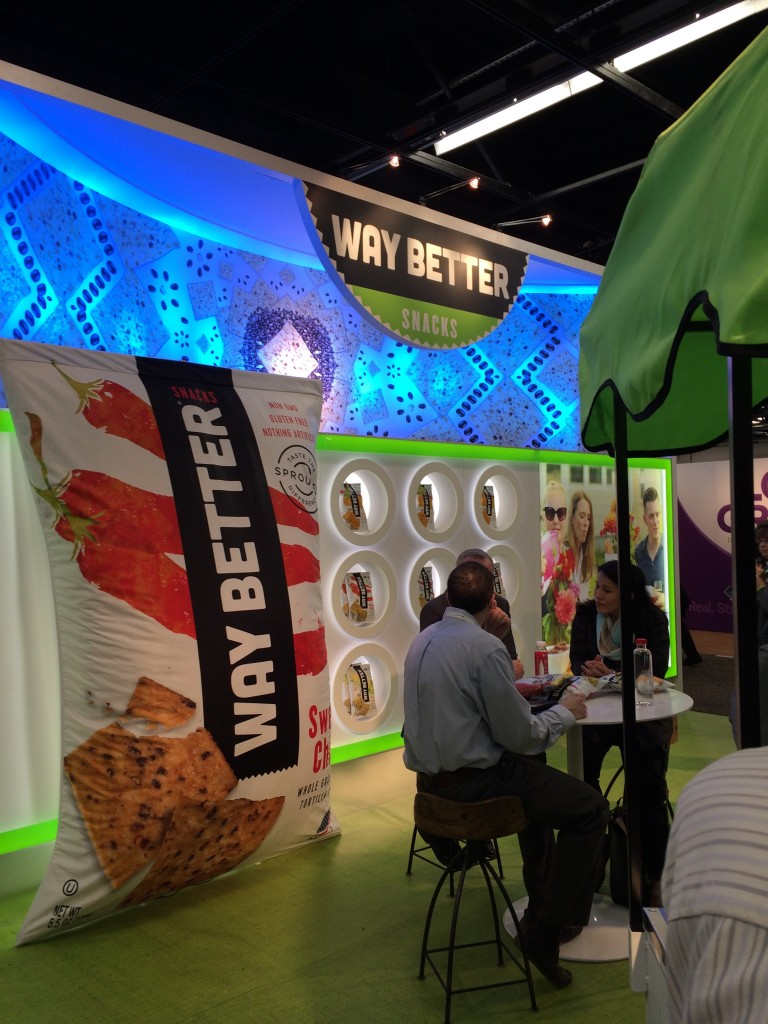 Way Better Snacks at Natural Products Expo West