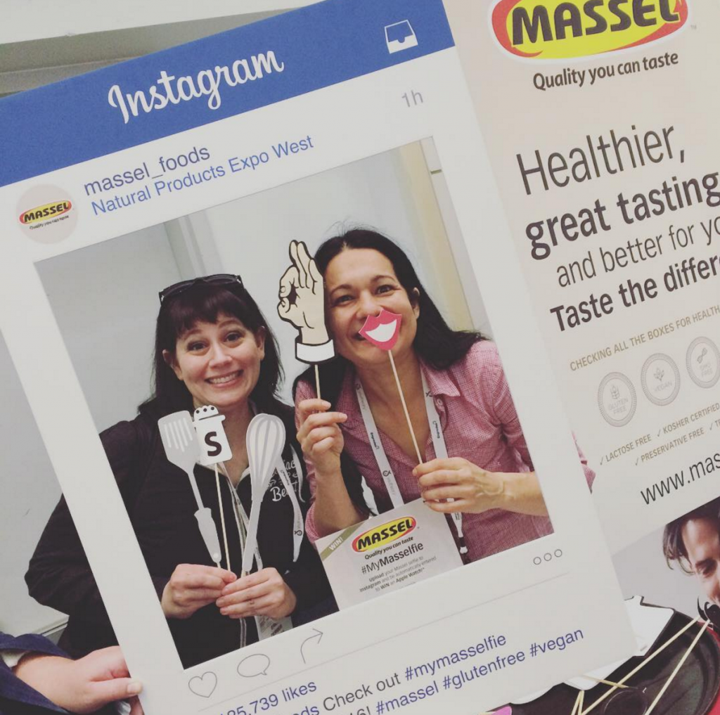 Massel Gluten Free Bouillon #MyMasselfie at Natural Products Expo West with The Blender Girl