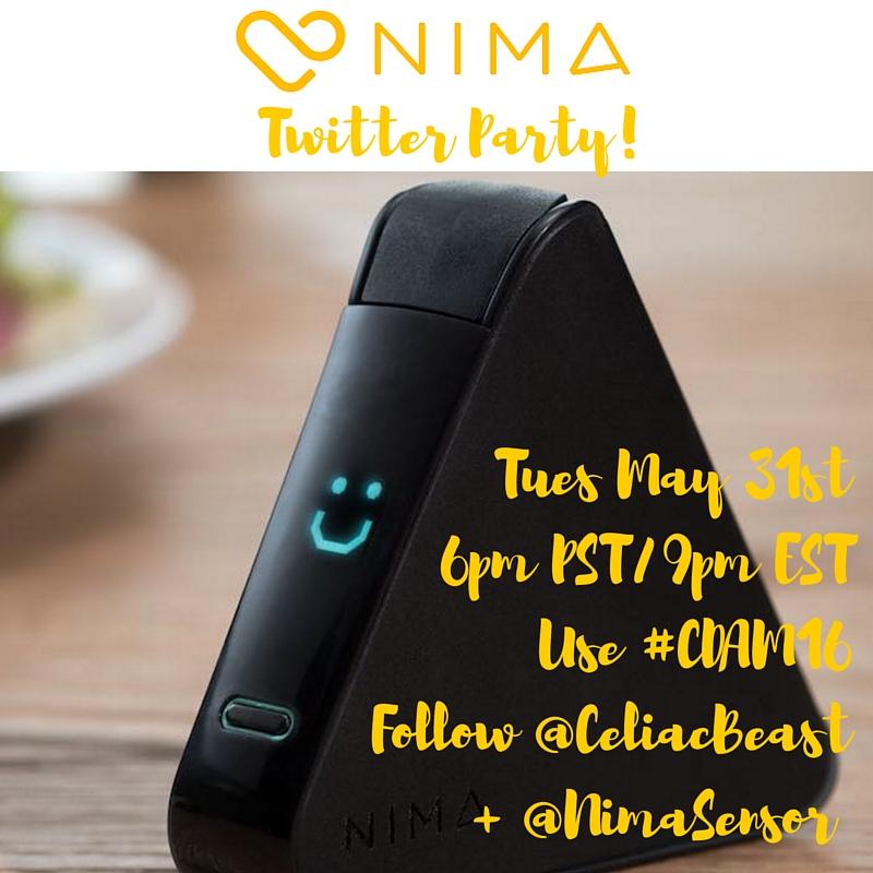 Nima Sensor Twitter Party!