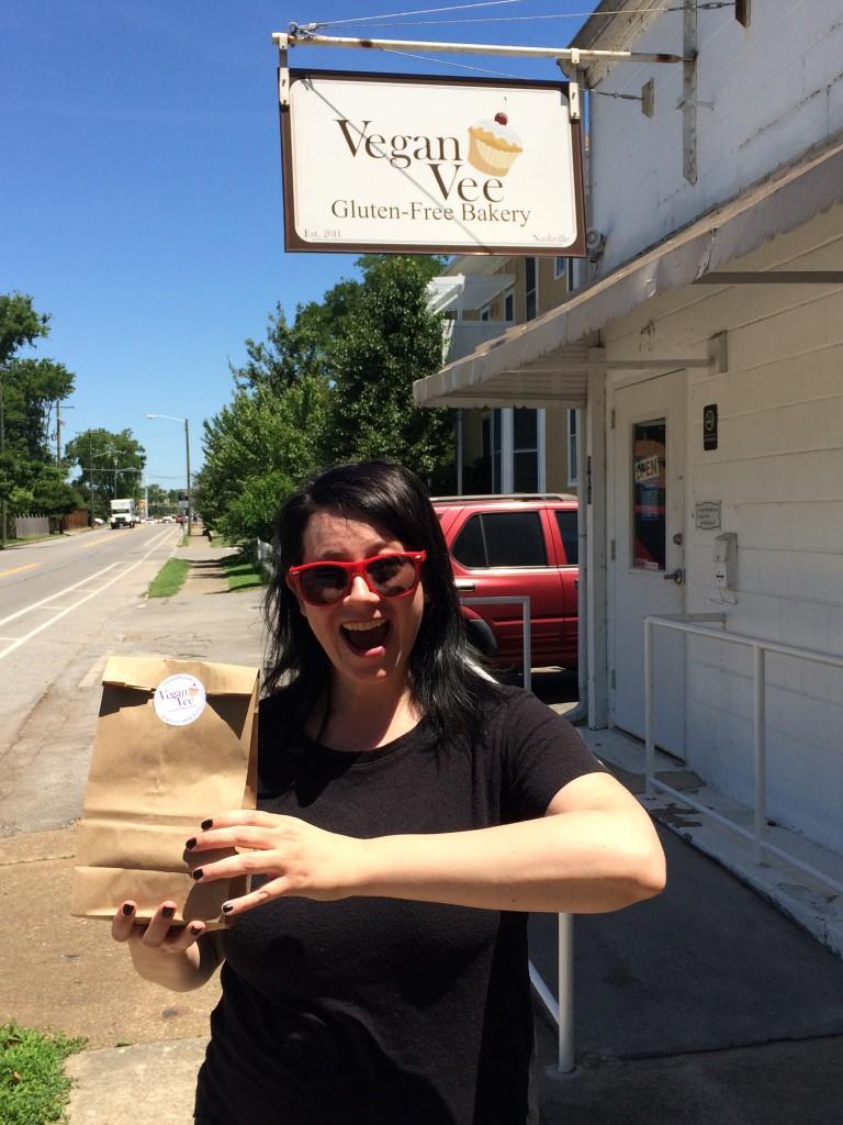 #EatFreelyUSA Nashville Vegan Vee Vegan Bakery Gluten Free