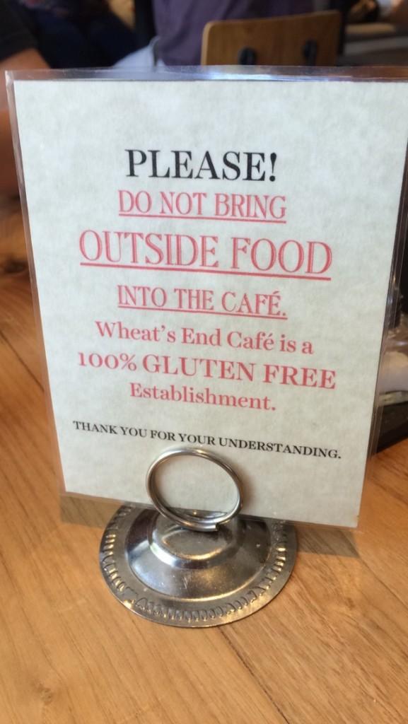 #EatFreelyUSA Chicago Wheat's End Cafe