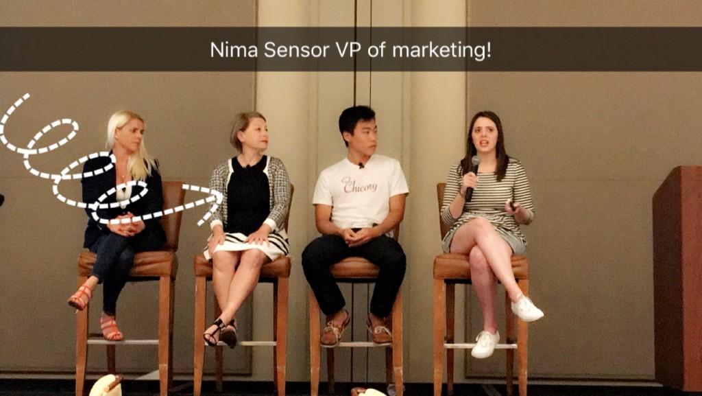 Nima Sensor at International Food Bloggers Conference