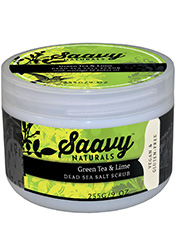 Sea Salt Beauty Products - Saavy Naturals Dead Sea Salt Scrub