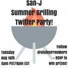 San-J Summer GrillingTwitter Party!