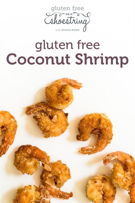 Gluten Free Coconut Shrimp Gluten Free Small Bites