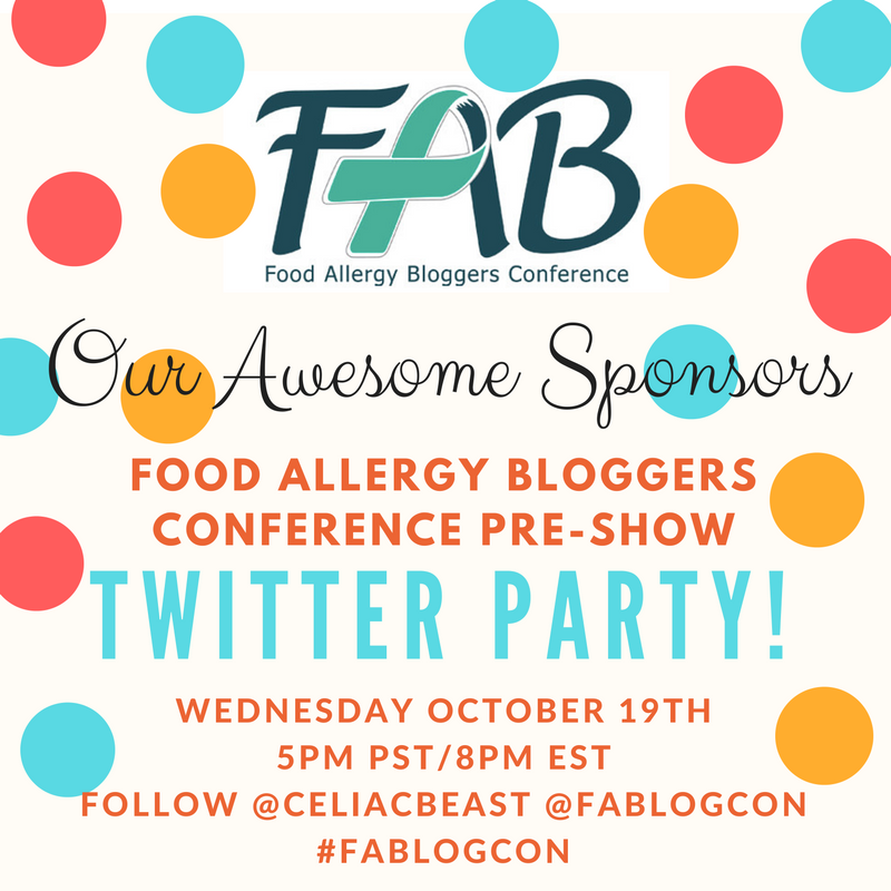 Food Allergy Bloggers Conference #FABlogCon