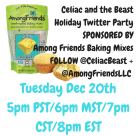 Twitter Party with Celiac and the Beast and Among Friends Baking Mixes