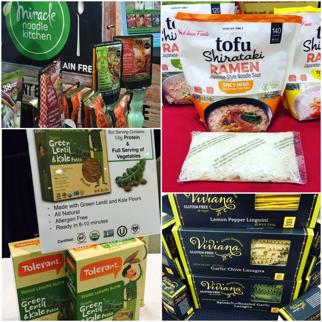 Best of the Gluten Free PASTA at Winter Fancy Foods 2017