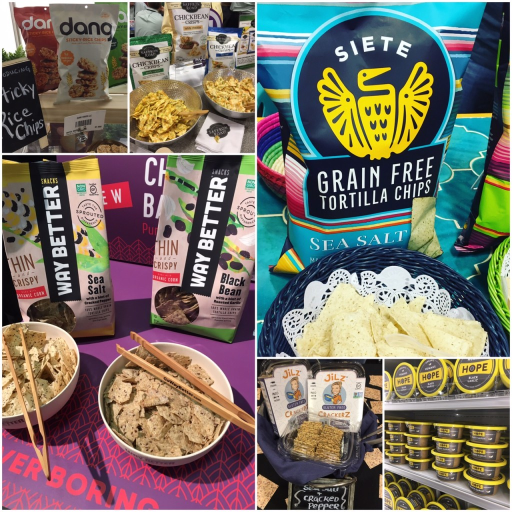 Best of the Gluten Free CHIPS and SNACKS at Winter Fancy Foods 2017