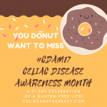Celiac Disease Awareness Month Schedule 2017