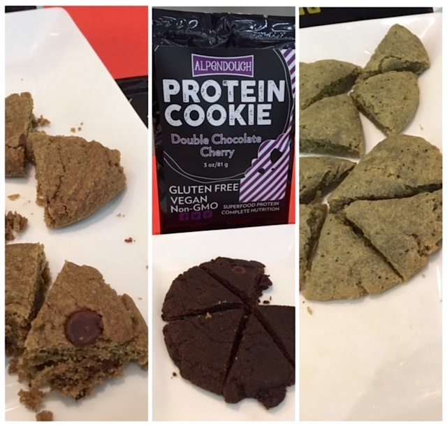 AlpenDough Protein Cookie