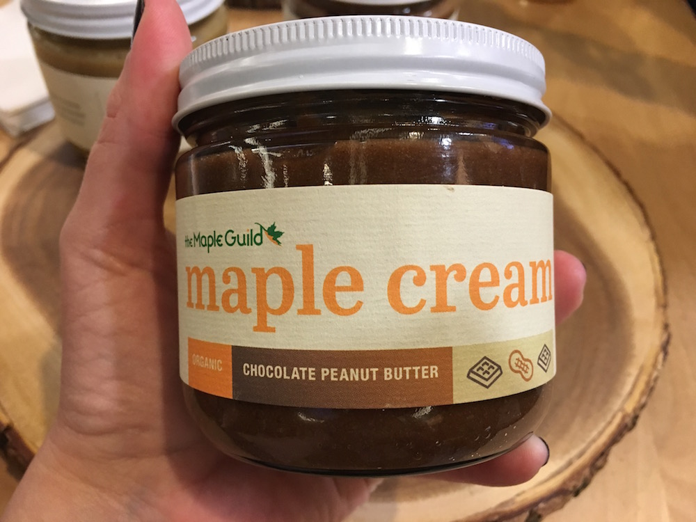 The Maple Guild Maple Cream and Chocolate Peanut Butter