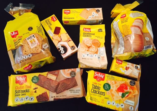 Schar Gluten-Free Giveaway featuring favorites from Schar's dietitian with #CDAM17 Celiac and the Beast