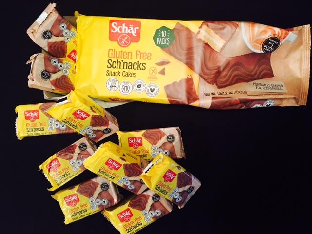 NEW Gluten-Free Schar Sch'nacks