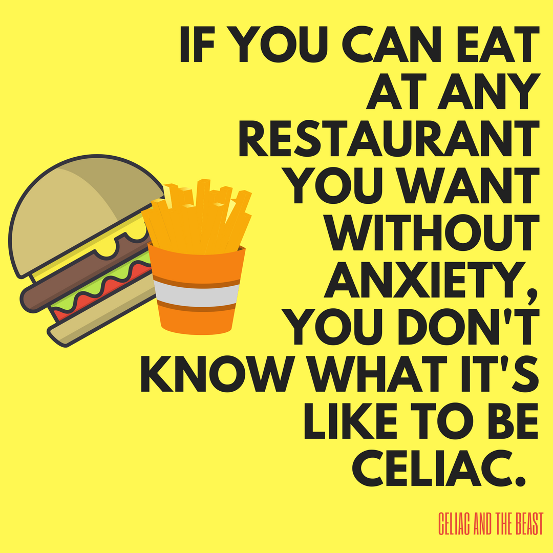 Gluten Free Fast Food Celiac Disease Awareness Month
