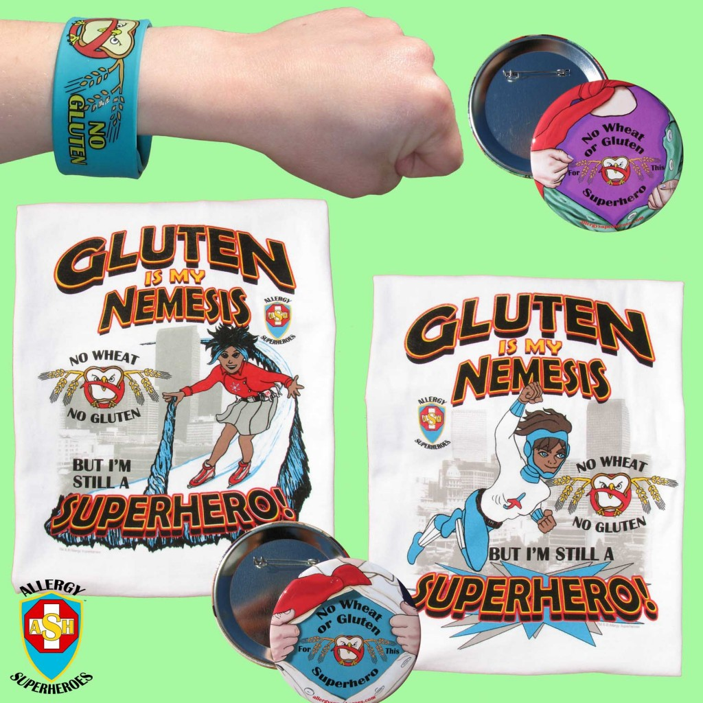 For Celiacs and Gluten-Free ALL Food Allergy Superheroes