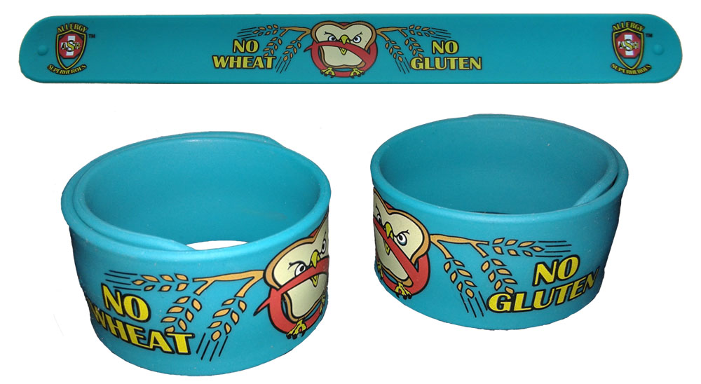 Slap Bracelet for Gluten Free Children