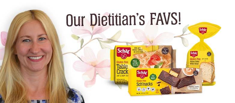Let's meet Schar's Dietitian