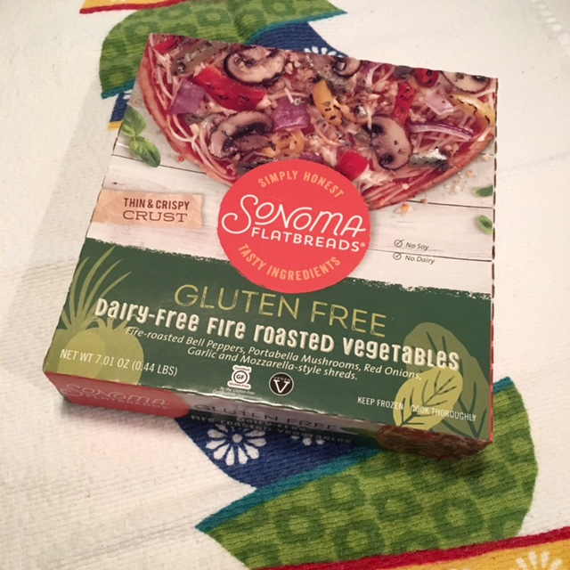 Sonoma Flatbreads Gluten Free Dairy Free Roasted Vegetables