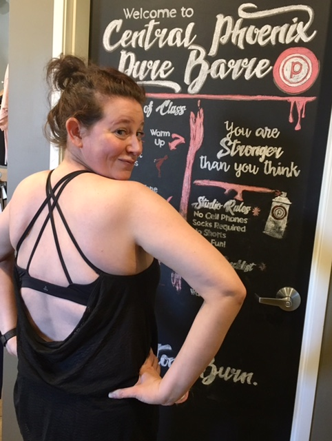 prAna Mika Strappy Top at Pure Barre after class