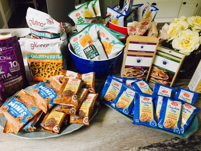 Enjoy Life Foods Glutino and Onesto at #GFBloggerRetreat