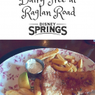 Gluten Free and Dairy Free at Disney Springs Raglan Road