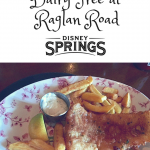 Gluten Free Dairy Free at Raglan Road Disney Springs Walt Disney World