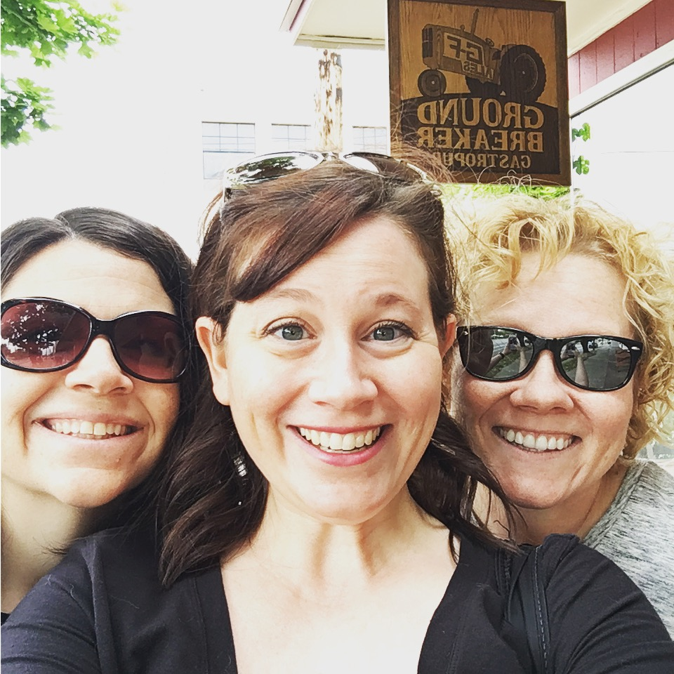Cindy, Chrystal and Erica at Ground Breaker Brewing 100% Gluten-Free Restaurant in Portland, OR #GFBloggerRetreat