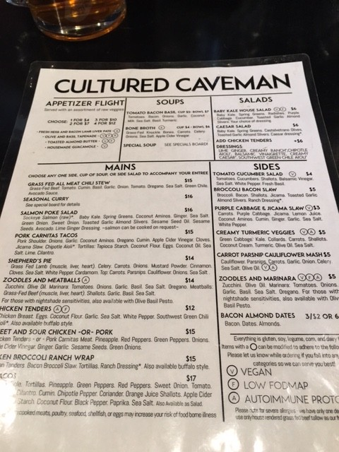 Cultured Caveman Portland OR