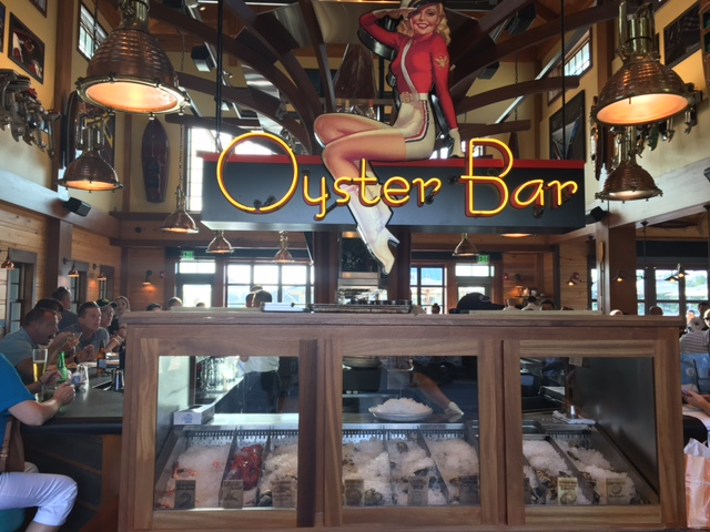 The Oyster Bar Raw Bar Gluten Free Dairy Free at The Boathouse Disney Springs