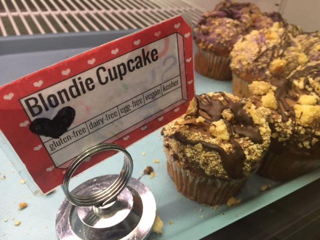 Gluten Free Dairy Free Blondie Cupcakes Erin McKenna's Bakery