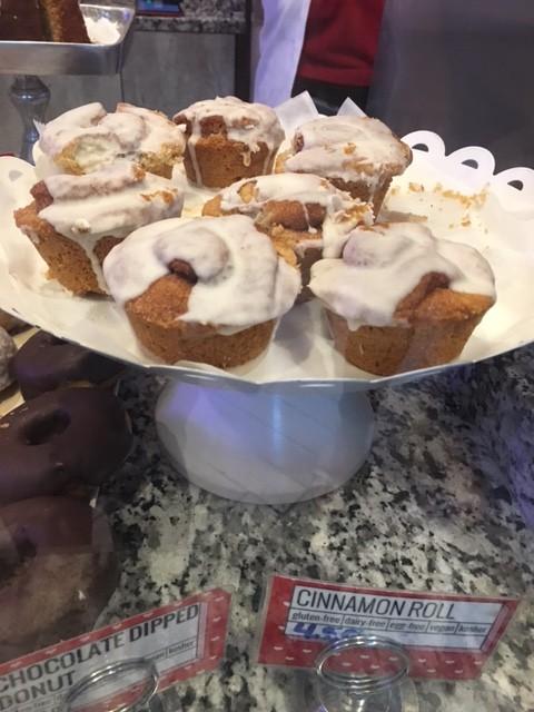 Gluten Free Dairy Free Cinnamon Rolls Erin McKenna's Bakery
