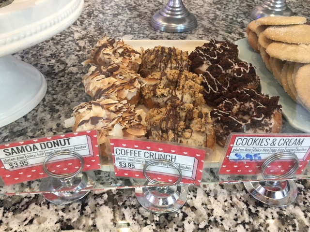 Coffee Crunch Donuts at Erin McKenna's Bakery