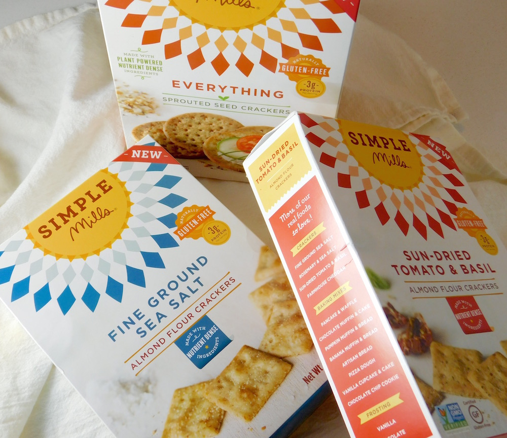 Simple Mills Crackers at #GFBloggerRetreat