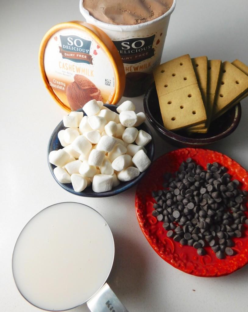 Gluten Free Dairy Free S'mores Milkshake