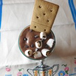 Gluten Free Dairy Free S'mores Milkshake with So Delicious Dairy Free