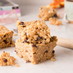 Gluten-Free Oatmeal Cherry Breakfast Bars