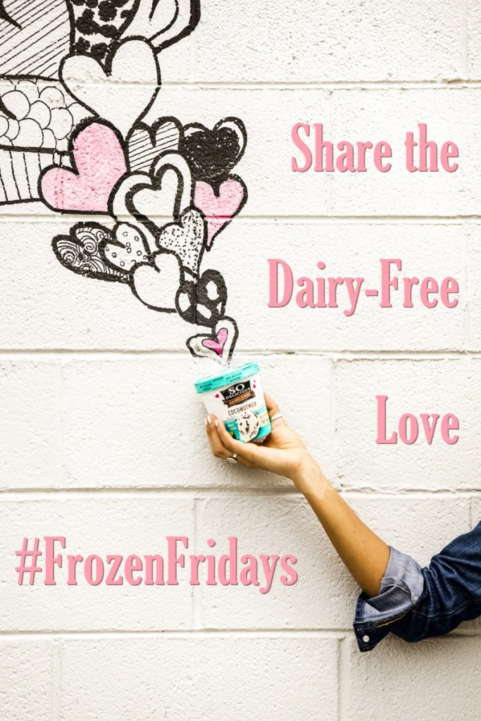 #FrozenFridays with So Delicious Dairy Free and Go Dairy Free
