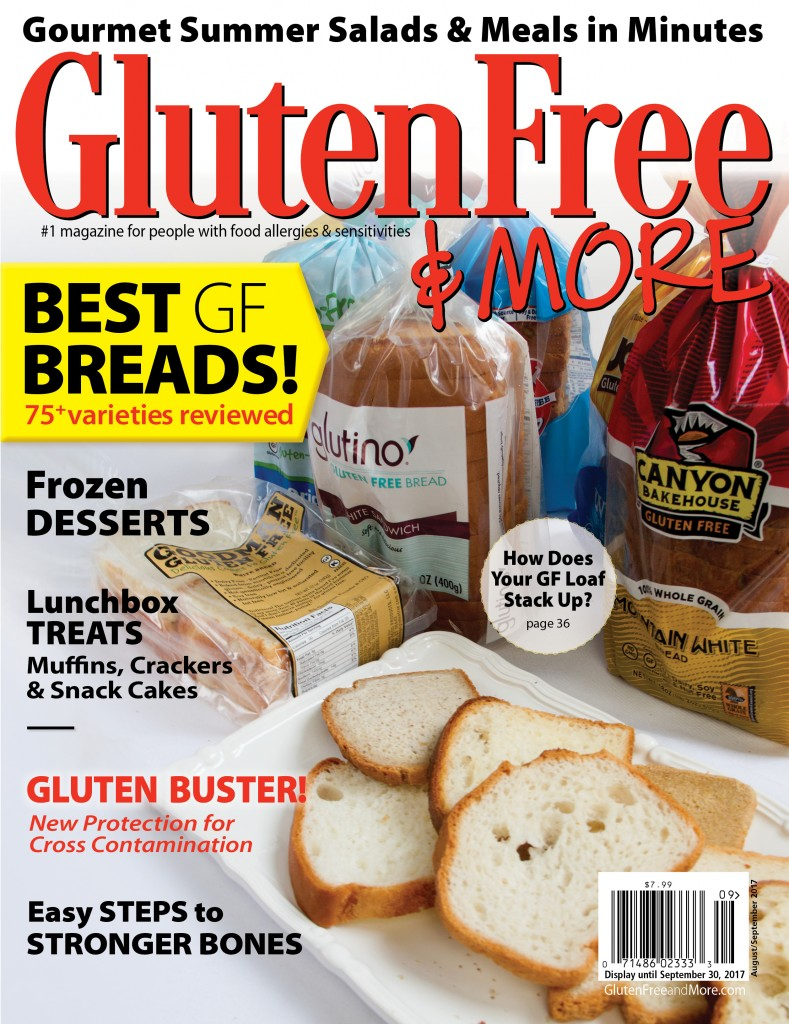 Gluten Free & More magazine Aug/Sept 2017
