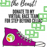 Donate to Celiac and the Beast's KC5K Step Beyond Celiac Fundraiser!