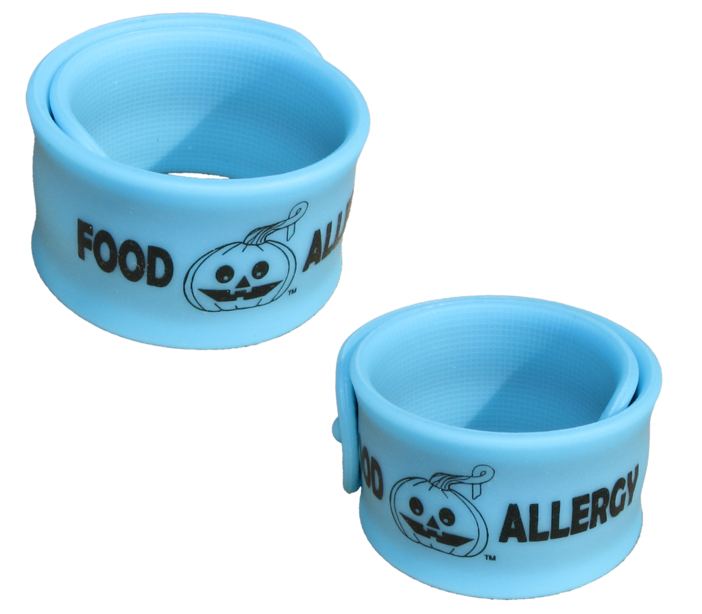 Allergy Superheroes Halloween Slap Bracelet