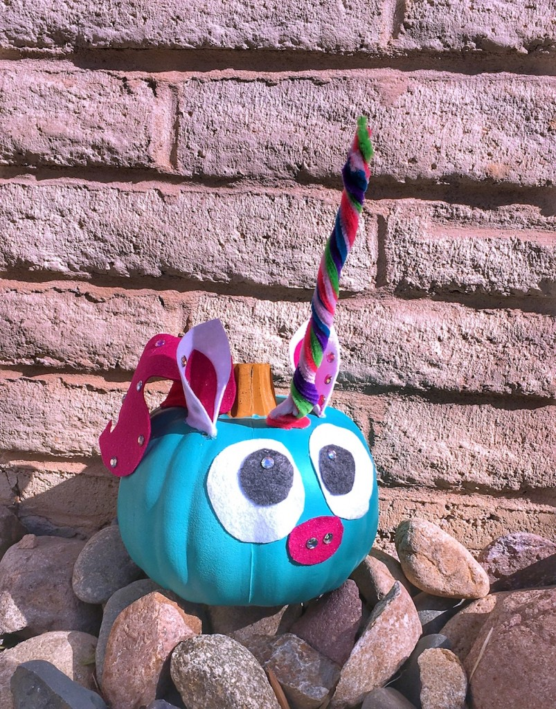 Teal Pumpkin Unicorn
