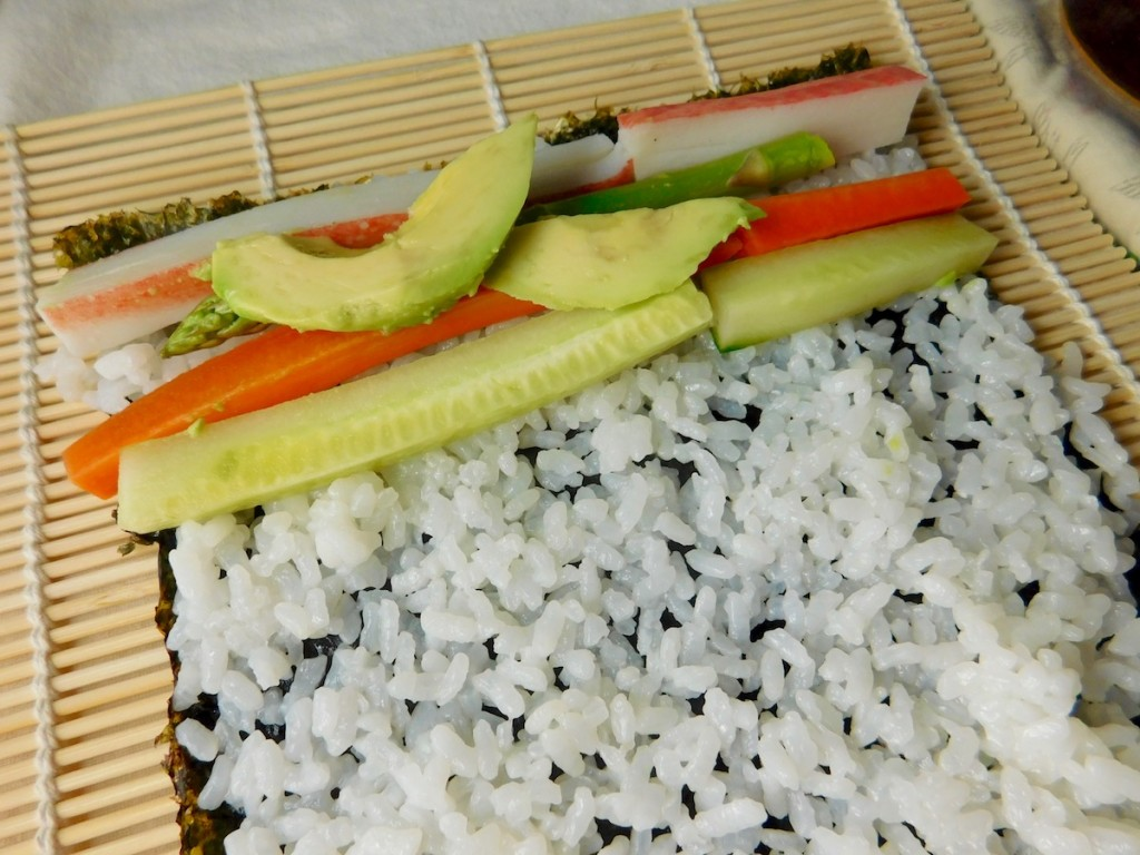 Simply Surimi California Roll - Rolling the Sushi Roll
