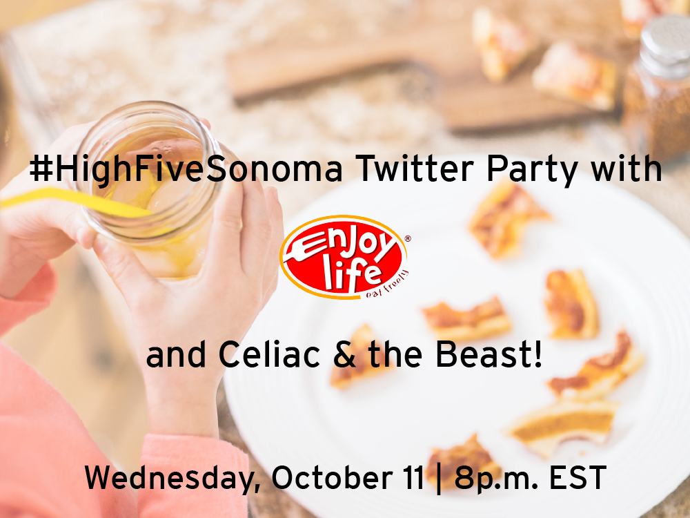#HighFiveSonoma Twitter Party