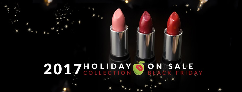Black Friday with Red Apple Lipstick
