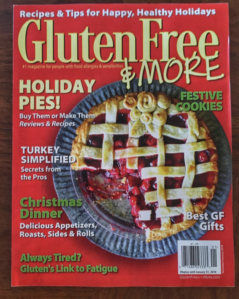 Dec Jan 2017 2018 Gluten Free and More