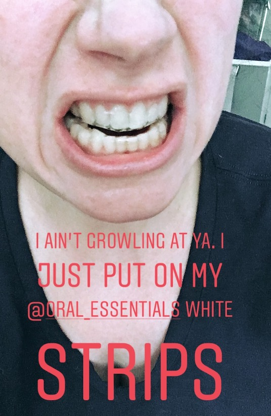 ShiftCon 2018 Oral Essentials Whitening Strips