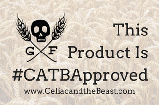 #CATBApproved Sticker for Expo West 2018