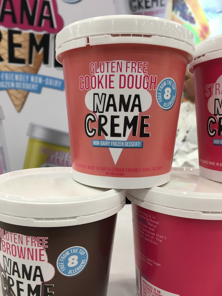 Nana Creme Gluten Free Cookie Dough Frozen Dessert